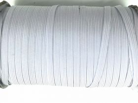 Great value Roll of 6mm Braided Elastic- Cool White #1012F available to order online New Zealand