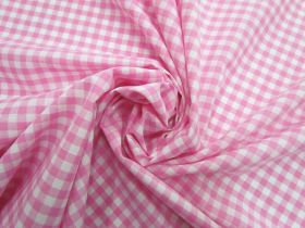 Great value 6mm Gingham Cotton- Pink #5562 available to order online New Zealand