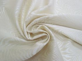 Great value Fierce Stripes Stretch Jacquard- Cream #4198 available to order online New Zealand