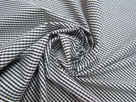 Great value 3mm Gingham Cotton- Black #5568 available to order online New Zealand