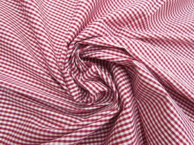 Great value 3mm Gingham Cotton- Red #5569 available to order online New Zealand