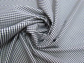 Great value 3mm Gingham Cotton- Navy #5573 available to order online New Zealand