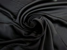 Great value Satin Back Crepe- Obsidian Black #5585 available to order online New Zealand