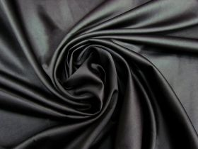 Great value Stretch Crepe Back Satin- Galactic Black #5584 available to order online New Zealand