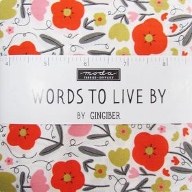 Great value Words To Live By Charm Pack available to order online New Zealand