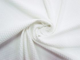 Great value Lattice Bubble Knit- White #5615 available to order online New Zealand