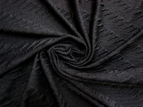 Great value Untamed Stripe Knit- Black #5616 available to order online New Zealand