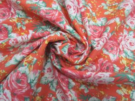 Great value Orange Blossom Stretch Cotton #5637 available to order online New Zealand