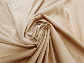 Great value Polyester Taffeta Lining- Savannah Beige #5649 available to order online New Zealand