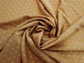 Great value Caramel Spot Faille #5667 available to order online New Zealand