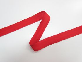 Great value 25mm Poly Cotton Bias Binding- Red- 8047-24 available to order online New Zealand