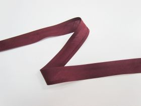 Great value 25mm Poly Cotton Bias Binding- Wine- 8047-25 available to order online New Zealand