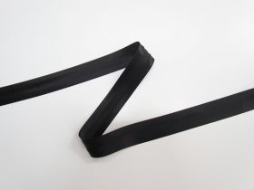 Great value 20mm Satin Bias Binding- Black 8024-06 available to order online New Zealand