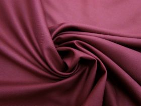 Great value Viscose Blend Twill Suiting- Berry Burgundy #5696 available to order online New Zealand