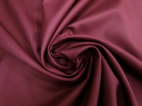 Great value Viscose Blend Twill Suiting- Plum Red #5697 available to order online New Zealand