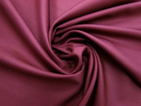Great value Viscose Blend Twill Suiting- Mahogany Red #5698 available to order online New Zealand