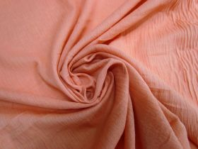 Great value Crinkled Cotton Cheesecloth- Peach #5711 available to order online New Zealand