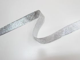 Great value 25mm Stellar Metallic Ribbon- Silver available to order online New Zealand