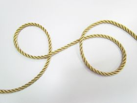 Great value 8mm Twisted Metallic Cord- Gold available to order online New Zealand