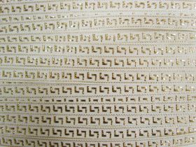 Great value 15mm Ancient Gold Brocade Ribbon Trim #557 available to order online New Zealand