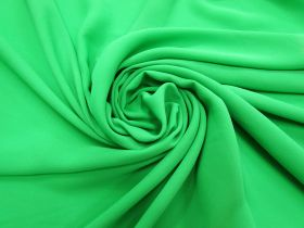 Great value Georgette- Bright Green #4294 available to order online New Zealand