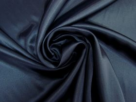 Great value Charmeuse Satin- Alluring Navy #5715 available to order online New Zealand
