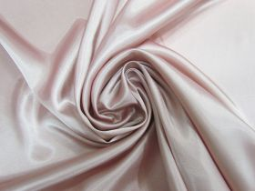 Great value Charmeuse Satin- Rosie Pink #5716 available to order online New Zealand
