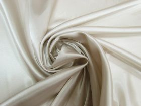 Great value Charmeuse Satin- Silver Beige #5717 available to order online New Zealand
