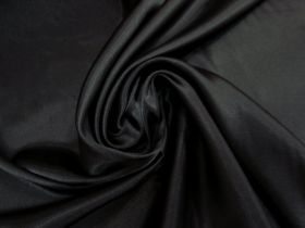 Great value Charmeuse Satin- Elegant Black #5721 available to order online New Zealand