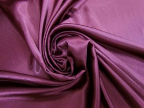 Great value Charmeuse Satin- Majestic Maroon #5722 available to order online New Zealand