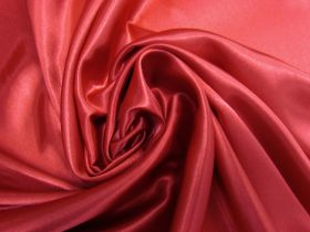 Great value Charmeuse Satin- Ruby Red #5723 available to order online New Zealand