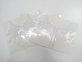 Great value Studded Embellishment Motif Bundle- Neckline- 3 for $5 available to order online New Zealand