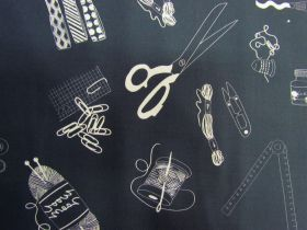 Great value Make Something Cotton- DV3866- Charcoal available to order online New Zealand