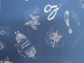 Great value Make Something Cotton- DV3865- Navy available to order online New Zealand