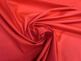 Great value Smooth Cotton Poplin- Red #5770 available to order online New Zealand