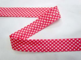 Great value A Day In The Country Bias- Medium Check- Coral Pink available to order online New Zealand