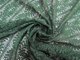 Great value ONE OFF Fern Green Lace- 3m Piece CL1027 available to order online New Zealand