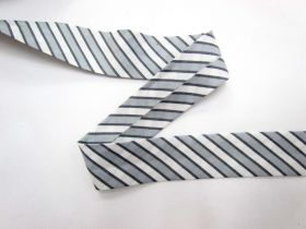 Great value A Day In The Country Bias- Ticking Stripe- Grey available to order online New Zealand