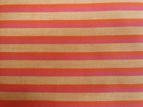 Great value Lanna Woven Cotton- Courage Shot Stripe available to order online New Zealand