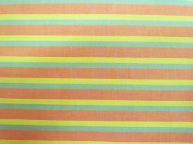 Great value Lanna Woven Cotton- Where Ever You Travel Shot Stripe available to order online New Zealand