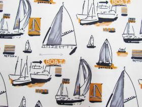 Great value Yacht Club Cotton- Cream available to order online New Zealand