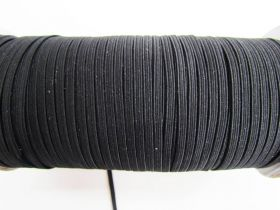 Great value 3mm Braided Elastic- Black #1005M available to order online New Zealand