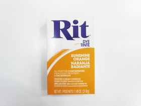 Great value Rit All Purpose Powder Dye- Sunshine Orange available to order online New Zealand