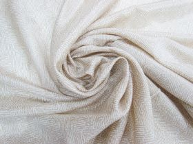Great value ONE OFF Lightweight Silk- Chevron Wheat - 3.5m Remnant Piece CL1041 available to order online New Zealand