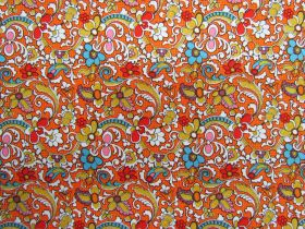Great value Bittersweet Cotton #C5371-ORANGE available to order online New Zealand