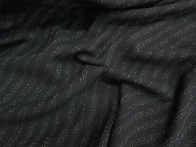 Great value Gangster Pinstripe Soft Crepe available to order online New Zealand