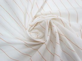 Great value Cotton Blend- Soda Stripe Orange #5803 available to order online New Zealand