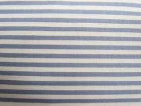 Great value 4mm Stripe Cotton- Grey / Cream #PW1096 available to order online New Zealand