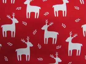 Great value Festive Reindeer Cotton #PW1098 available to order online New Zealand