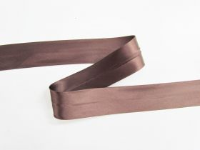 Great value 32mm Satin Bias Binding- Chocolate Sauce #697 available to order online New Zealand